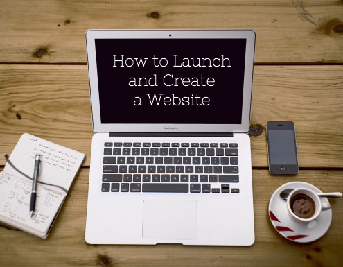 How to Launch and Create a Website